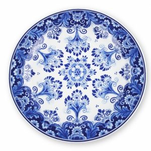 "Piatto decorativo ""Fiori"" Royal Delft"