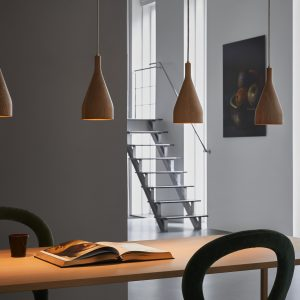 Timber lampada a sospensione – Hollands Licht