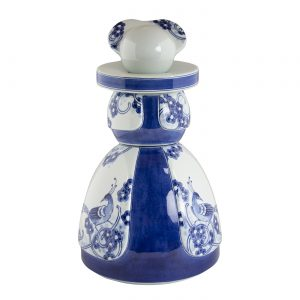 Figurina Proud Mary – Flower Peacock – Royal Delft